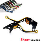 Short Edging Brake Clutch Levers For Honda CB600F/CB650F 07-13/CBR600F/CBF600