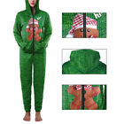 Christmas Cosplay Costume Ball Suits Jumpsuits Hooded Bear Green Polyester Hot