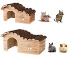 *NEW* TRIXIE HANNA FLAMED WOODEN RAT CHINCHILLA GUINEA PIG RABBIT HOUSE 2 SIZES