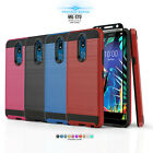 FOR [ZTE BLADE SPARK Z971] PHONE CASE [PROTECH SERIES] SHOCKPROOF HYBRID COVER