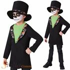 Boys Day Of The Dead Costume Mexican Halloween Fancy Dress Child Outfit