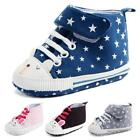 Cute Baby Shoes Infant Boy Girl Soft Sole Shoes Antislip Toddler Canvas Sneakers