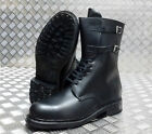 Genuine Vintage Italian Military / Police Issue Hi - Leg Combat / Assault Boots