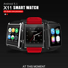 XI Bluetooth Android Wear Astute Watch GSM SIM Card Phone Mate For iPhone Samsung