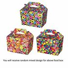 SWEET CANDY LOLLY Kids Party Lunch Boxes Birthday Box Wedding Food Bag Meal Gift