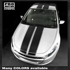 Dodge Dart 2013-2018 Over The Top Sport Double Stripes Decals (Choose Color) $118.09 CAD on eBay