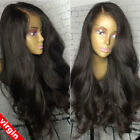 Pre Plucked 360 Full Frontal Lace Wig 100% 8A Peruvian Virgin Human Hair Wigs s2