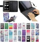 For Huawei MediaPad T1 T1-A21W 10.0 USB Andriod Tablet Keyboard Case Cover Flip
