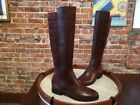H by Halston Brown Leather & Suede Michelle Riding Boot NEW