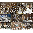 Merry Christmas Wall Art Removable Home Window Wall Stickers Decal Decoration JR