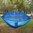 Camping Teavel Parachute Fabric Hammock Bed Portable Outdoor Mosquito Net -US