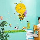 3D DIY Creative Cartoon Wall Clock With Wall Stickers For Home Kid's Room Decor
