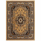 blue brown area rugs - Rugs Area Rug Bordered Blue Red Brown Persian Oriental Traditional Carpet Floor