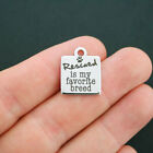 Dog Rescue Stainless Steel Charm - Rescued is my Favorite Breed - BFS622