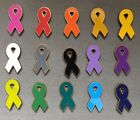 Awareness Ribbon Lapel Pin Cancer Support USA MADE