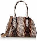 Liebeskind Berlin Handbags Jule Slack Python Embossed Leather Black, New Stone