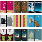 MIX CHRISTMAS COLLECTION LEATHER BOOK CASE FOR SAMSUNG GALAXY TAB A 7.0 (2016)