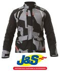 Alpinestars Andes V2 Drystar Motorcycle Jacket Black Camo Red Waterproof J&S