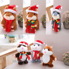 Xmas Talking Nod Hamster Mouse Record Chat Mimicry Pet Plush Toy Christmas Gift