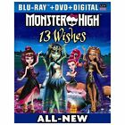 Monster High: 13 Wishes (Blu-ray/DVD, 2013, 2-Disc Set, Includes Digital Copy