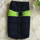 US STOCK Dog Coat Jacket Pet Supplies Clothes Winter Apparel Clothing Costume