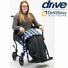 Wheelchair Leg & Lap Padded Cover Cosy. Water and Wind Proof. Brush Cotton liner