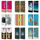 HEAD CASE MIX CHRISTMAS COLLECTION LEATHER BOOK CASE FOR SONY XPERIA XZ PREMIUM