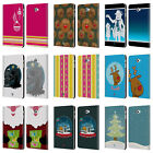 MIX CHRISTMAS COLLECTION LEATHER BOOK CASE FOR SAMSUNG GALAXY TAB A 10.1 (2016)