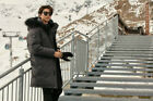 Discovery Expedition Stanley Down Premium Jacket Gray Chest 95-110cm Gong yoo