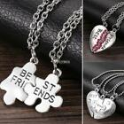 Women Alloy Heart Lobster Claw Clasp Long Chain Stone Necklace DZ88