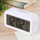LED Digital Electronic Alarm Clock Backlight Time With Calendar + Thermometer US