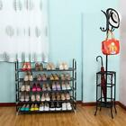New 5/10 Tier Layer Storage Organizer Cabinet Shelf Space Saving Shoe Tower Rack