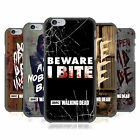 OFFICIAL AMC THE WALKING DEAD TYPOGRAPHY HARD BACK CASE FOR APPLE iPHONE PHONES