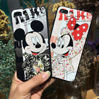 Cute Disney Couples Cartoon Pattern Shockproof Soft TPU Phone Case Back Cover