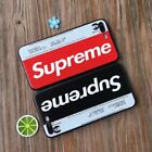 Retro Camouflage Supreme Metro Card Shockproof Soft TPU Phone Case Back Cover
