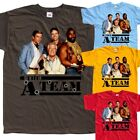 The A-Team V3, TV Series, T-SHIRT (RED,YELLOW) all sizes S to 5XL