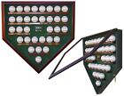 3000 HIT CLUB HOMEPLATE SHAPED DISPLAY CASE - FOR THE SERIOUS SPORTS COLLECTOR!