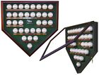 500 HOME RUN CLUB HOMEPLATE SHAPED DISPLAY CASE - FOR THE AVID SPORTS COLLECTOR!