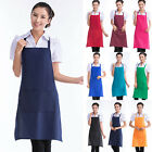 HP Cooking Kitchen Restaurant Waterproof Apron Bib New Dress with Pocket Aprons