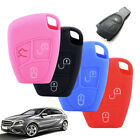 3 Button Silicone Remote Key Cover Shell Case Fob Fits Mercedes CL500 1999-2005
