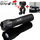 Ultrafire 50000Lumens XML T6 Zoomable Tactical LED 18650 Flashlight Torch Lamp