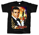 JAMES BOND Never Say Never Again (1983r.) Movie ver. 2 T-Shirt (Black) S-5XL $23.53 CAD on eBay