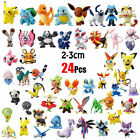 24-144Pcs Mixed Lots Pokemon Pocket Monster Action Figures Kid Toy Gift 2-3cm US