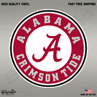 Alabama Crimson Tide Football Full Color Logo Sports Decal Sticker-FREE SHIPPING