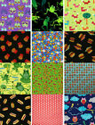 """Butterfly Owl & More Cotton Fabric BTY Multiple Fabrics You Choose 44"""" 4Charity"""