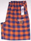 Chicago Bears NFL Flannel Lounge Pants Men's size Medium Large or XXL New w/Tag