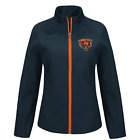 Chicago Bears NFL Soft Shell Jacket Women's size Small Medium or Large New w/Tag