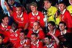 MANCHESTER UNITED WINNING THE INTERCONTINENTAL WORLD CUP 1999 04 PHOTO PRINTS