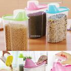 2.5L Plastic Kitchen Food Cereal Grain Bean Rice Storage Box Container Box N98B