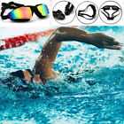 Adult Adjustable Anti-fog UV HD Mirror Waterproof Swimming Race Goggles Glasses